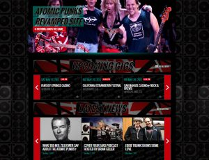 Atomic Punks launch completely revamped site.